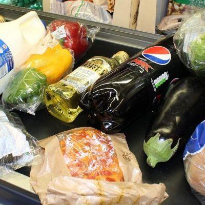 Boodschappen voedselpakket