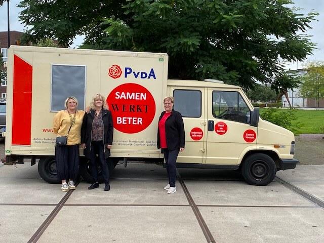 PvdA kandidaat-voorzitters debat